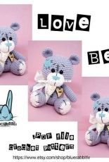 Blue Rabbit - Irena Tocelovska - Love Bear