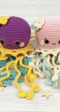 Tikva Patterns - Yulia Mozhaiska - Aya the Fancy Jellyfish