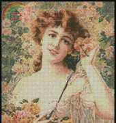 Artecy Cross Stitch - Victorian lady