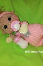 Crochet Pattern World - Annea Leolea - Baby Doll girl