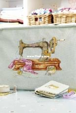 Vintage Sewing by Maria Diaz from Cross Stitch Collection 245