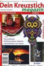 Dein Kreuzstich Magazin Issue 6 November - December-2014 - German