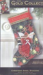 Dimensions 9135 Christmas Angel Stocking Needlepoint