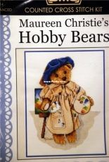 DMC 581214 Hobby Bears - Painting Bear by Maureen Christie's