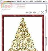 Alessandra Adelaide Needleworks CT 10 - Sapin Christmas Tree CT10