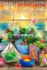 HAED HAEAISMC 20180411 Boho Seaside View Max Colors by Aimee Stewart