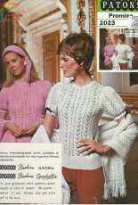 Patons-Booklet 2023-Ladies Lace Top & Shawl Scarf