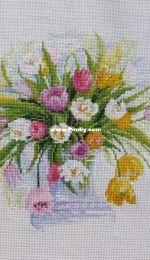 """""""Watercolor tulips"""" (Riolis)"""