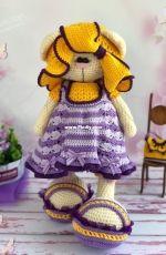 Crochet Bunny Art - Irina Tarasova - Sarafan Dress for Iris - Russian - Free