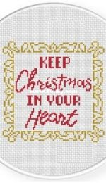 Daily Cross Stitch - Christmas In Your Heart