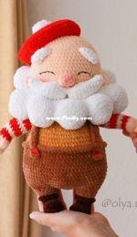Olya Usolya Amigurumi - Olya Usoltseva - Le Père Noël - Santa Claus