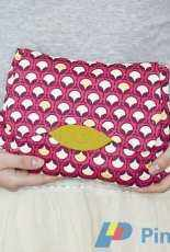 The Flores Clutch - Ithinksew