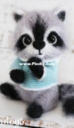 Sanka Toys - Oksana Berejshik - Little raccoon Smoky