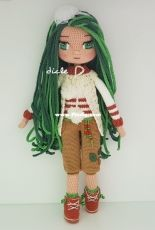New Green Doll made by Dicle Yaman