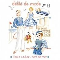 Les Brodeuses Parisiennes - Defile de mode Nº11 Haute couture - bord de mer