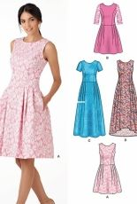 New Look 6341 multisize dress sewing pattern