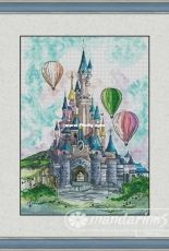 Mandarinks Design by Nadezhda Grigoryeva - Disneys Castle