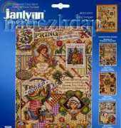 Janlynn 023-0491 - Spring Sampler