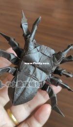 origami insects Tarantula