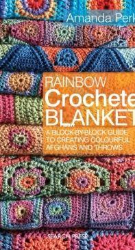Rainbow Crocheted Blankets - Amanda Perkins