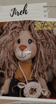 Dani Diro Handmade - Daniela Diaz - Jireh The Lion