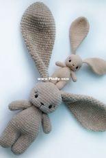 Crochet Toys Bunny Co - Maria Medvedeva - Cute Bunny Long Ears