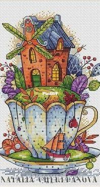 Tea Fantasy in XSD/ Natalia Cherepanova