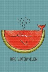 Sv_stitch - Ripe Watermelon by Svetlana Nemiritskaya (Svetlaja_maj)