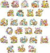 ABC The Story of Alphabet from Stitch Corea PCS