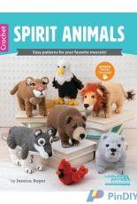 Leisure Arts 6458  - Jessica Boyer - Spirit animals - English