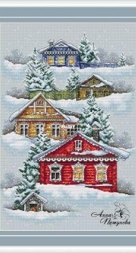 Russian Winter by Anna Petunova