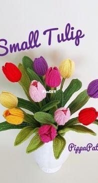 Pippa Patterns - Connie Rockliff - Small Tulip - English
