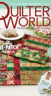 Quilter's World - December 2012