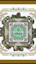 Chatelaine Designs Onl 158 - The Scotland Mandala
