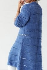 Lovely Day Knit Cardigan by Lisa Gentry-Free