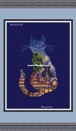 MiAxStitch - Romantic Cat by Minasyan Yana