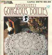 Leisure Arts 2879 Absolutely Gorgeous Doilies