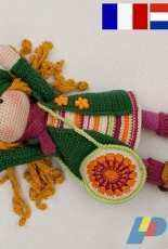 CAROcreated design - Carola Herbst- Doll Ida - German and English