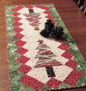 Fons & Porter's-Table Tinsel Table Runner-Free Quilt Pattern