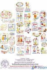 Les Brodeuses Parisiennes LBP - Le Grand ABC des Messages Brodes