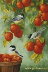 Gerdamoon Bonus 004 - Birds on Apples