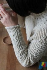Bright Sweater by Junko Okamoto