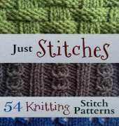 Just Stitches-54 Knitting Stitch Patterns-Tara Cousins 2014