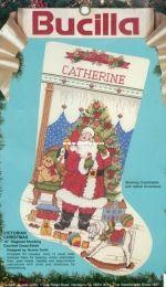 Bucilla 82917 - Victorian Christmas Stocking