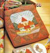 Applique Needlebook And Cover