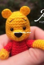 Agnesa Handmade - Agnesa Hakobyan - Winnie the Pooh Finger Puppet - Free