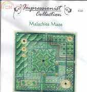 Laura J.Perin Designs Impressionist Collection  IC021 Malachite Maze