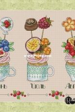 Summer Cupcakes - June / July / August by Alexandra E. / Alexandra Gurovskikh