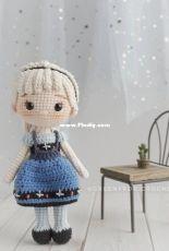 Green Frog Crochet - Thuy Anh - Elsa