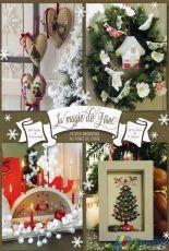 La Magie De Noël Petites broderies Au Point De Croix de Véronique Enginger Lilli Violette P. Samouinoff H. Le Berre